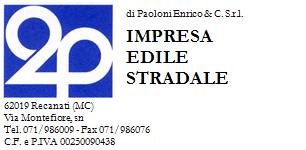 Logo 2P DI PAOLONI da carta intestata