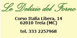 Logo DELIZIE DEL FORNO